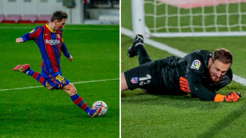Jan Oblak Brilliantly Sums Up What It's Like Playing Against Lionel Messi