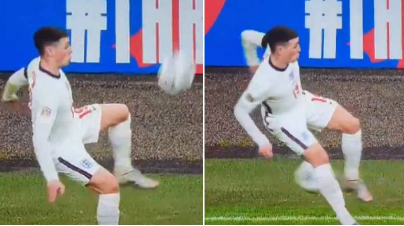 Phil Foden Does His Best Zinedine Zidane Impression By Producing Magnificent Touch