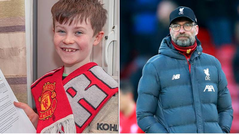 Liverpool Have Lost Twice Since Young Manchester United Fan Asked Them To 'Stop Winning'