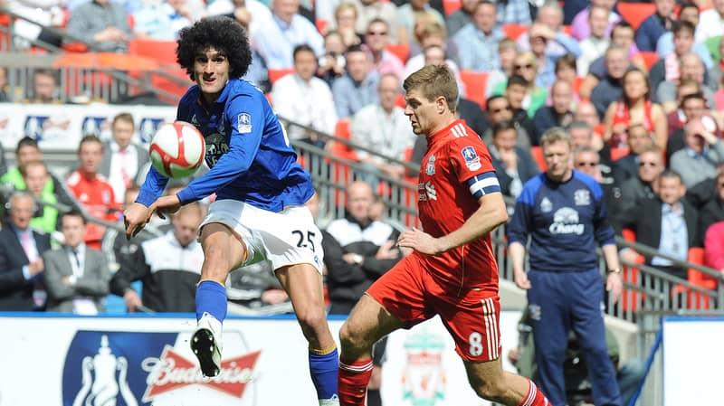 Steven Gerrard Explains What It's Like Playing Marouane Fellaini