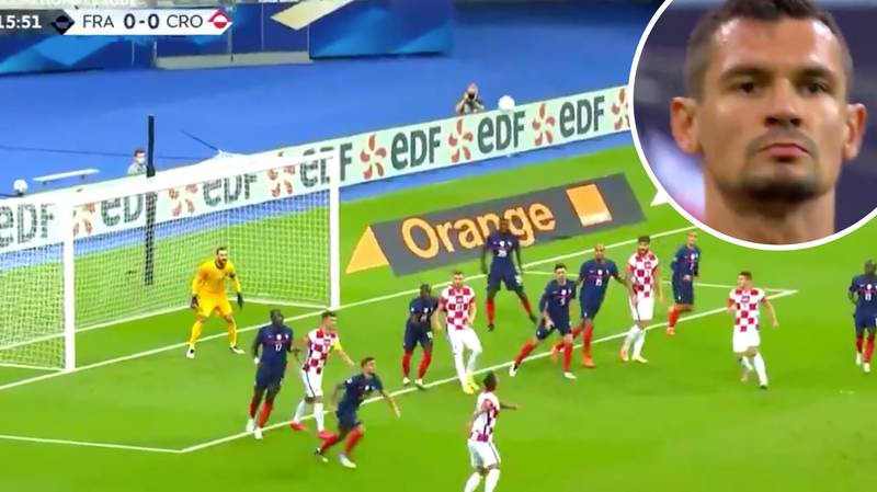 Dejan Lovren Scores The Most Unlikely Brilliant Goal Against France