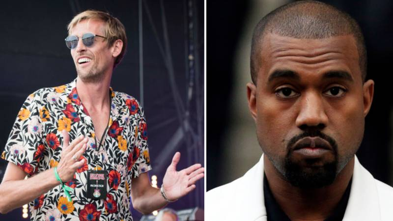 Peter Crouch Says He's Now Calling Himself 'CrouchYe' After Kanye West Announces Name Change