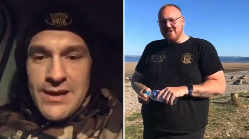 Tyson Fury Bumps Into Stranger He Talked Out Of Committing Suicide