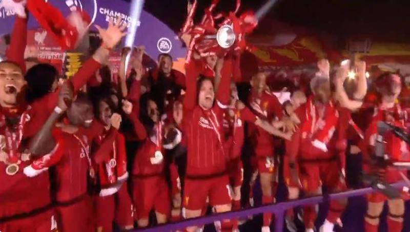 Liverpool Finally Lift Premier League Trophy After 30 Year Wait