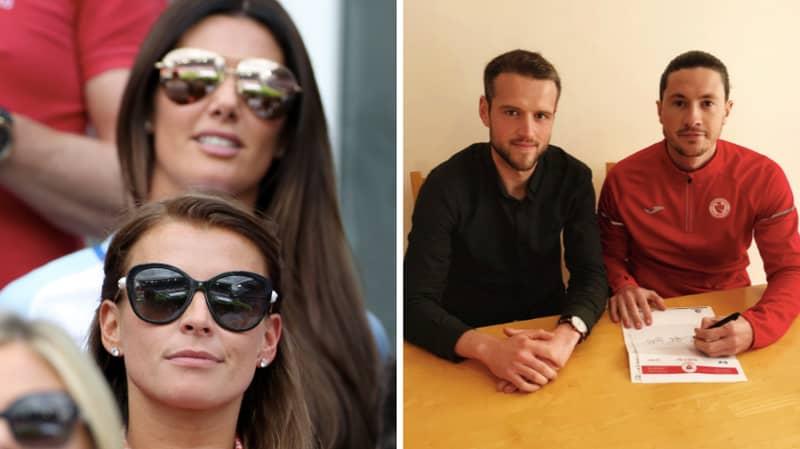 Irish Club Sligo Rovers Make Contract Announcement By Editing Coleen Rooney/Rebekah Vardy Row