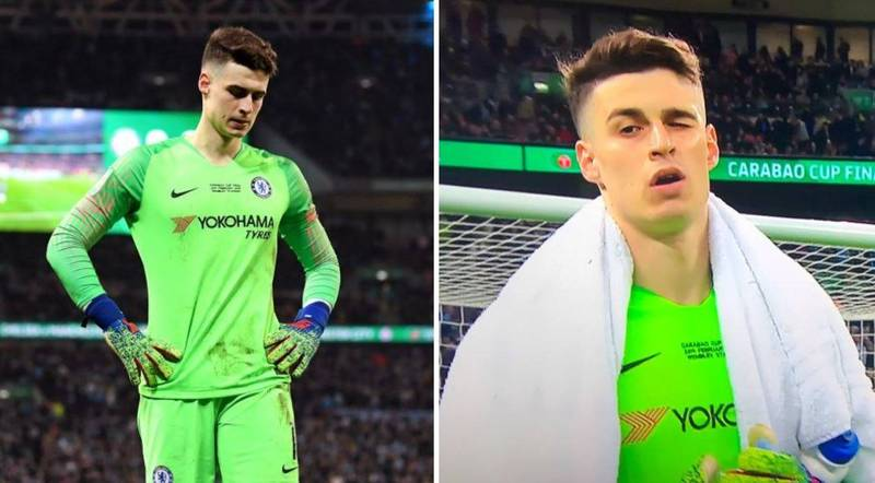 Kepa Arrizabalaga Releases A Statement After Refusing To Be Substituted Off