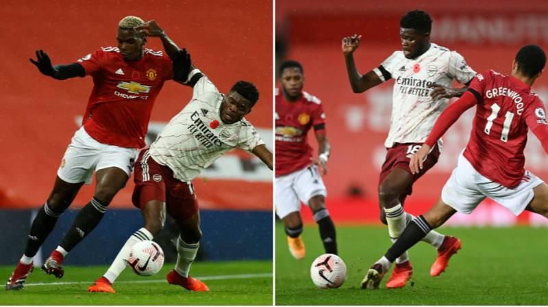 Thomas Partey Delivers Midfield Masterclass As Arsenal Beat Manchester United