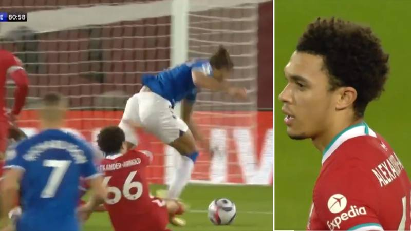 Everton's Penalty Vs Liverpool Was 'Correct' And Trent Alexander-Arnold 'Should've Been Sent Off'