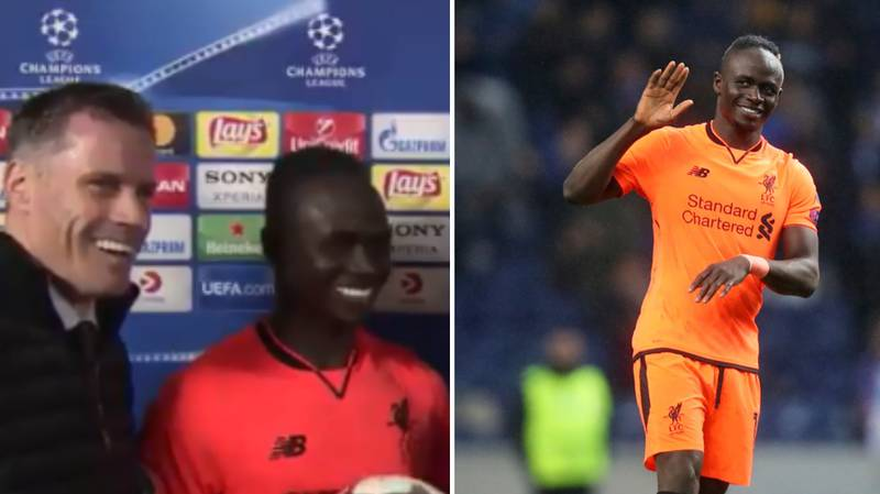 Watch: Mane Reveals What Carra Told Him At Half-Time In Brilliant Interview