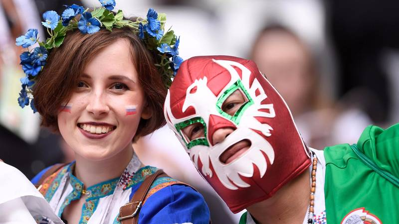 Mexico Fan Goes To Russia After Telling Wife He's Off To The Shops