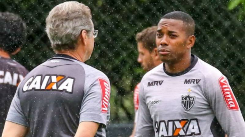 What Atletico Mineiro Coach Has Said About Robinho's Prison Sentence Is Ridiculous