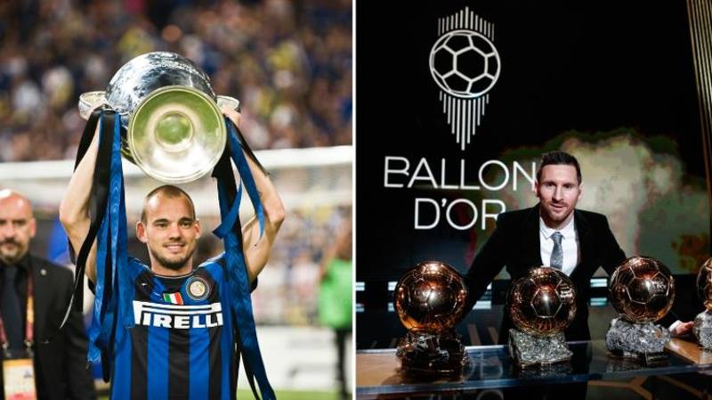 Wesley Sneijder Claims He Could Have Been As Good As Lionel Messi And Cristiano Ronaldo