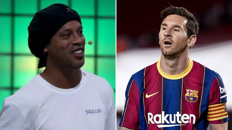 Ronaldinho Names The Three Players Who Were Better Than Lionel Messi
