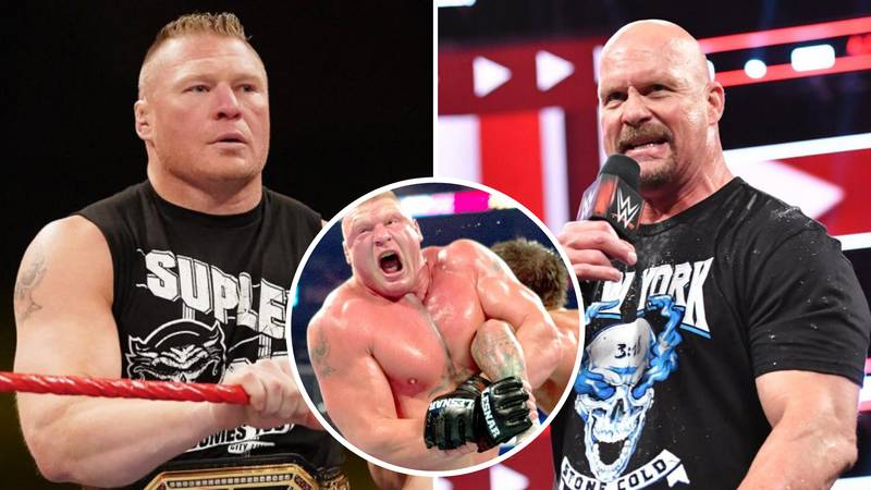 WWE Champ Brock Lesnar Is The 'Greatest Wrestler Of The Decade,' Says Stone Cold Steve Austin
