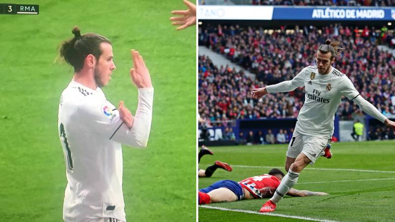 Gareth Bale Faces Suspension Over Goal Celebration Against Atletico Madrid