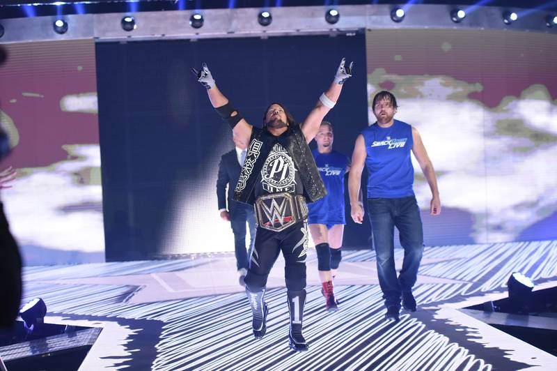 TheSPORTbible Selects The Top 25 WWE Matches Of 2016