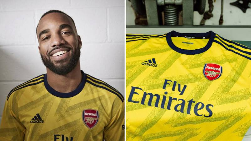 Arsenal Unveil 'Yellow Banana' Away Kit For 2019/20 Season