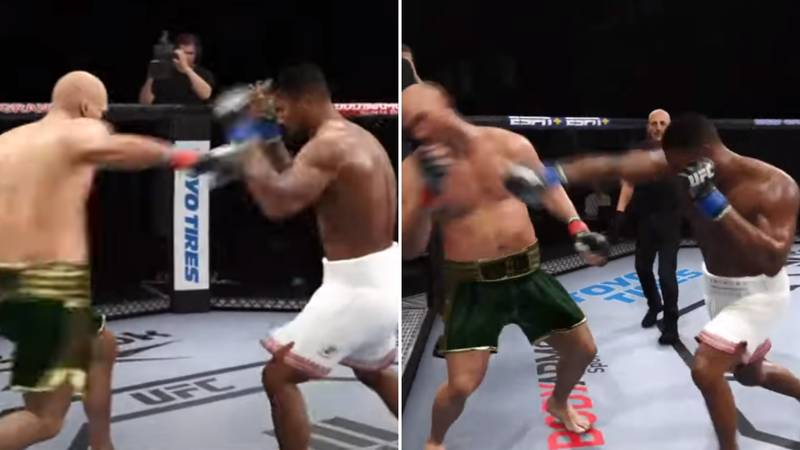 Anthony Joshua Vs Tyson Fury Simulated On EA Sports' UFC 4 - Ends In Brutal Knockout
