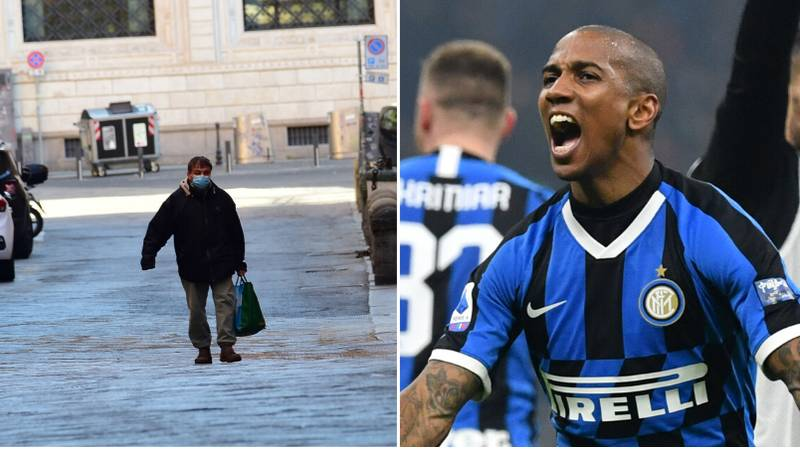 Inter Milan's Ashley Young Offers Coronavirus Advice Amid Lockdown In Italy