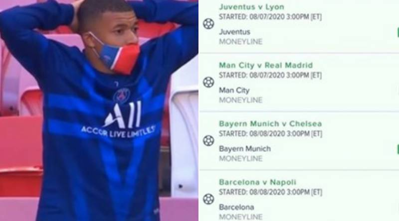 Punter Loses $230k On Crazy Atalanta-PSG Comeback Bet In Champions League