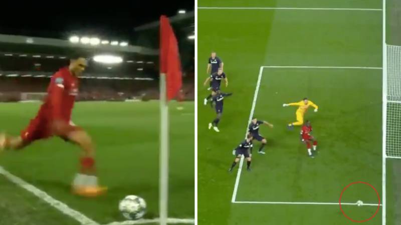 Trent Alexander-Arnold Tried To Recreate His Iconic Corner Kick Against Salzburg