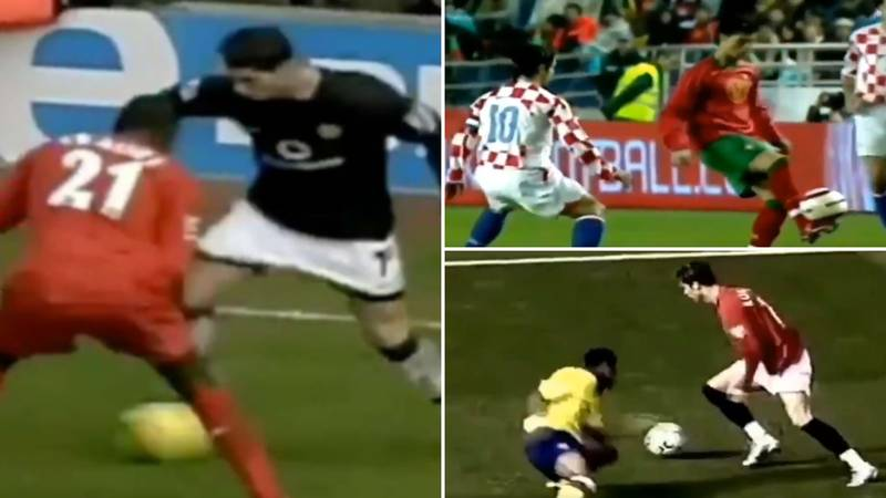 Video Of Young Cristiano Ronaldo Dropping Defenders 'Like It's Nothing' Is Incredible To Watch