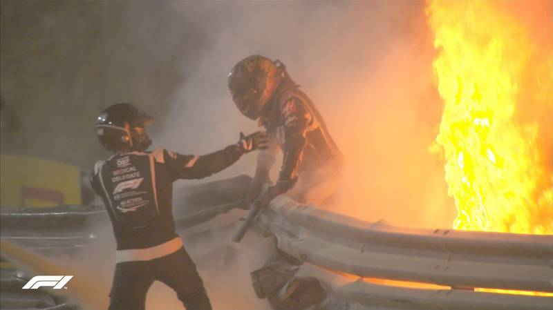 Doctors Who Had 'Very Small Window' To Save Romain Grosjean Hailed As Heroes