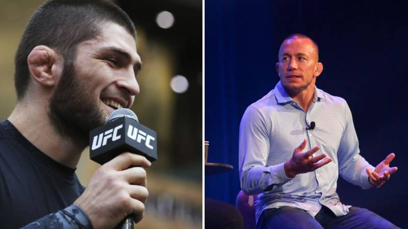 Khabib Nurmagomedov Calls For Super Fight With GSP For Charity