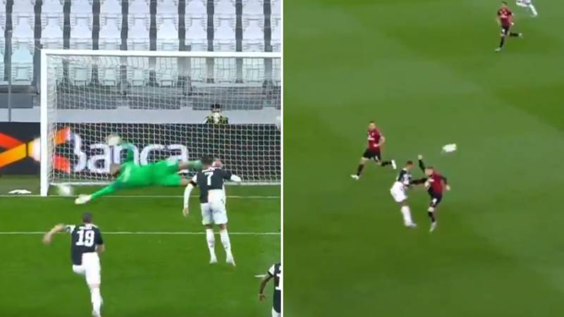 Ante Rebic Sent Off For Kung Fu Kick Moments After Cristiano Ronaldo Misses A Penalty