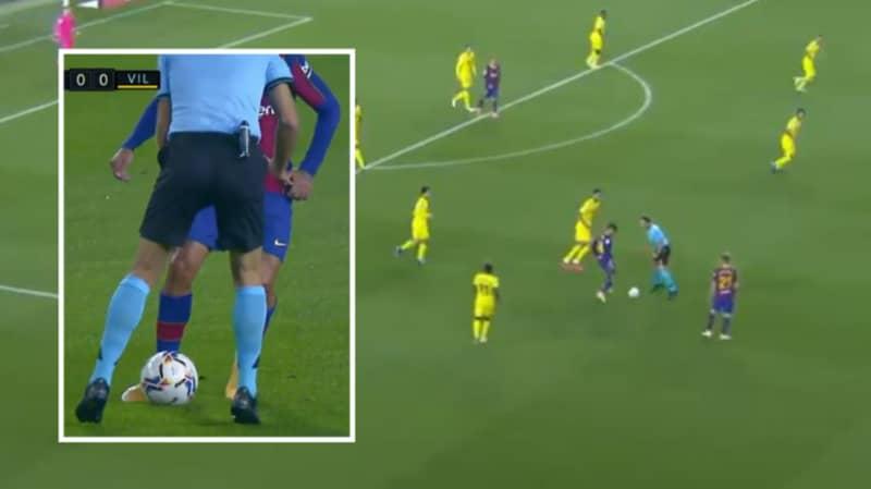 Philippe Coutinho Cheekily Nutmegged The Referee Last Night