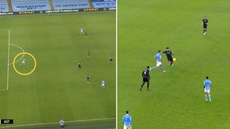 Fans Can't Understand Why VAR Let Manchester City's Winner Vs Aston Villa Stand