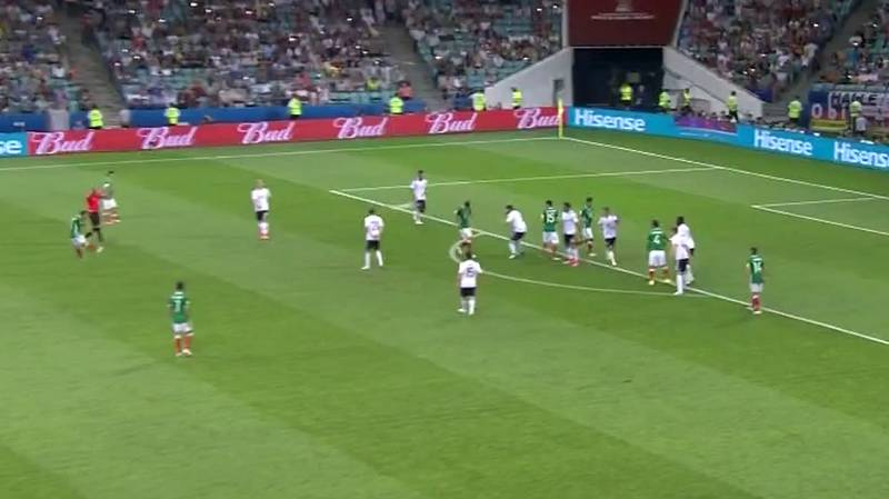WATCH: Mexico's Marco Fabian Scores Absolute Screamer Against Germany