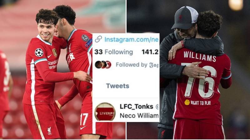 'F*** The Haters': Neco Williams Hits Back After Horrific Abuse From Liverpool Fans