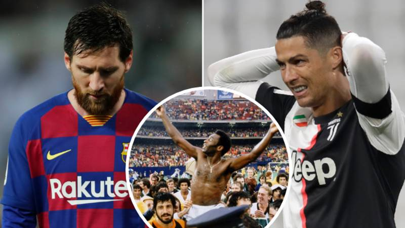 Lionel Messi And Cristiano Ronaldo Still Aren't On Pele's Level According To World Cup Winner