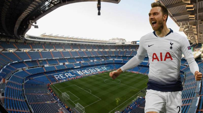 Christian Eriksen 'Will Sign For Real Madrid' After Champions League Final
