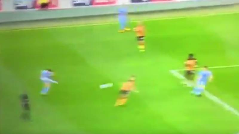 WATCH: Ruben Neves' First Goal For Wolves Was A Belter