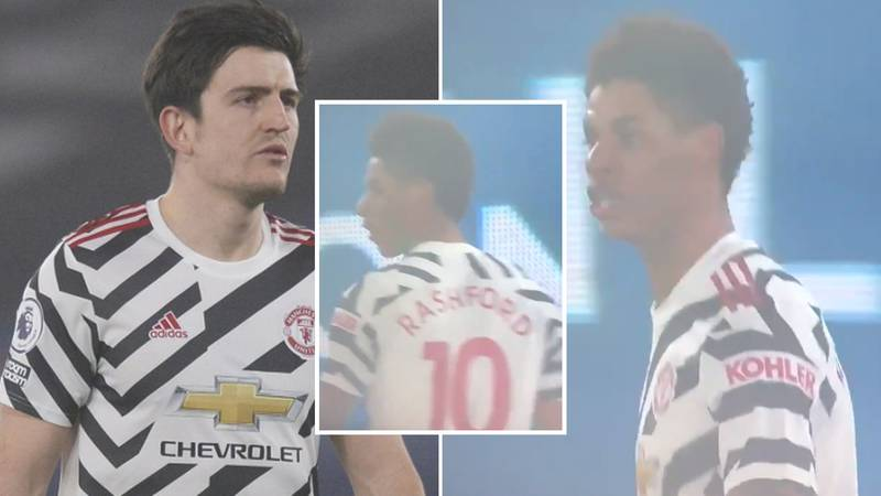 "Marcus Rashford Allegedly Told Harry Maguire To ""Shut The F**k Up You K**bhead"" In Furious Row"