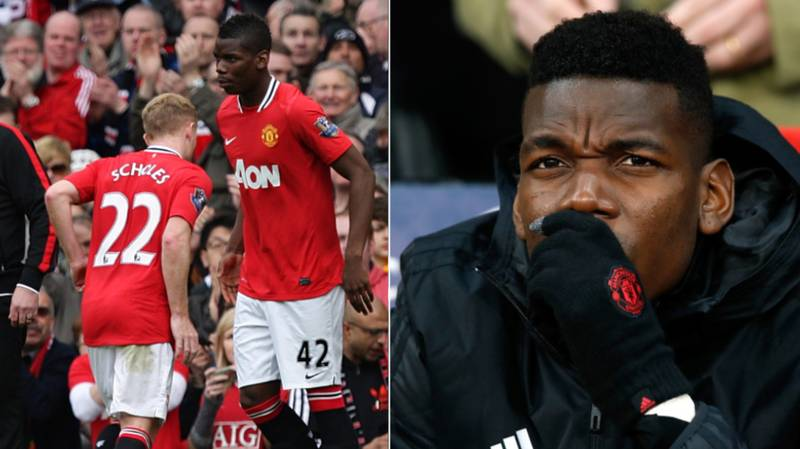 Paul Pogba Has Been Advised To Watch Videos Of Paul Scholes To Improve His Game