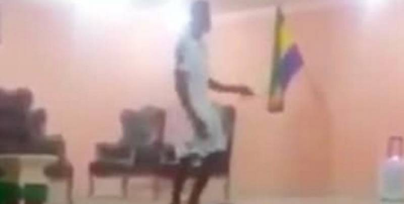 WATCH: Palace's Wilfried Zaha Performs Dance In Ivory Coast Initiation At AFCON