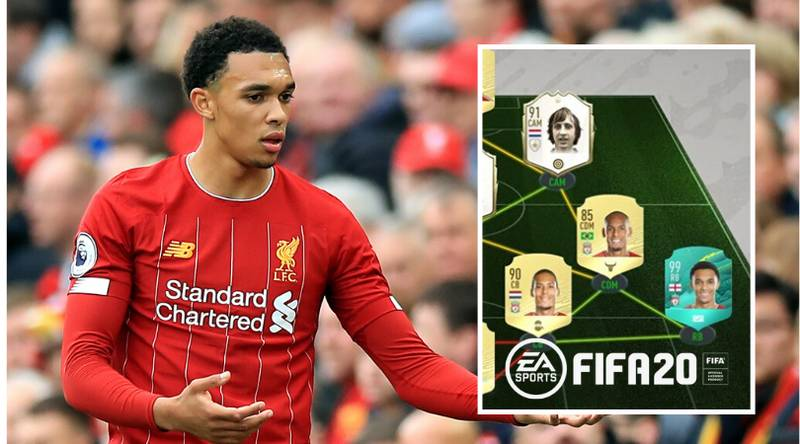 Trent Alexander-Arnold's FIFA 20 Ultimate Team Is Insane