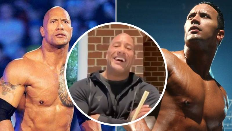 WWE Legend The Rock Hints At Shocking Return For One Dream Match