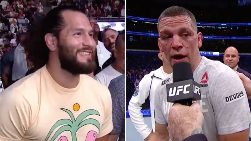 Nate Diaz Called Out 'Grinning' Jorge Masvidal For A Blockbuster UFC Clash