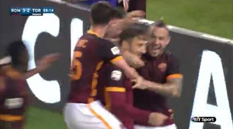 WATCH: Francesco Totti Being The Greatest Fucking Bloke Ever