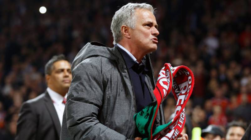 Jose Mourinho Has Thanked A Referee For Manchester United's Progress In Europe