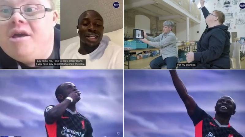 Sadio Mane Dedicated His Goal To Liverpool Fan's Grandfather