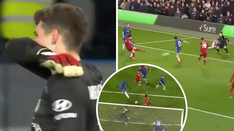 Kepa Arrizabalaga Produces Incredible Triple Save To Deny Liverpool In FA Cup Clash
