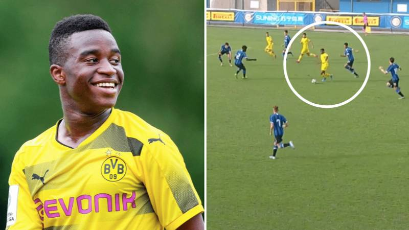 Fourteen-Year-Old Youssoufa Moukoko Becomes The Youngest UEFA Youth League Scorer