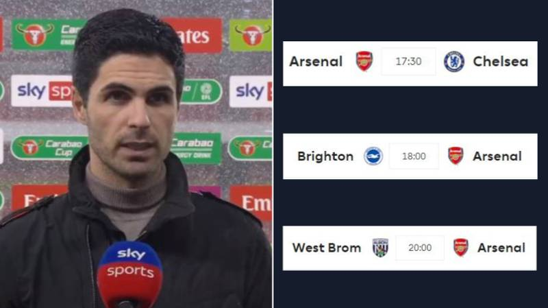 Mikel Arteta Admits Arsenal Are In 'Big Trouble' Following Manchester City Loss