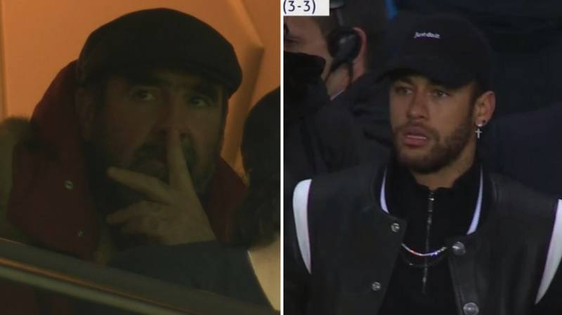 Eric Cantona And Neymar's Dad Nearly Came To Blows On Wednesday