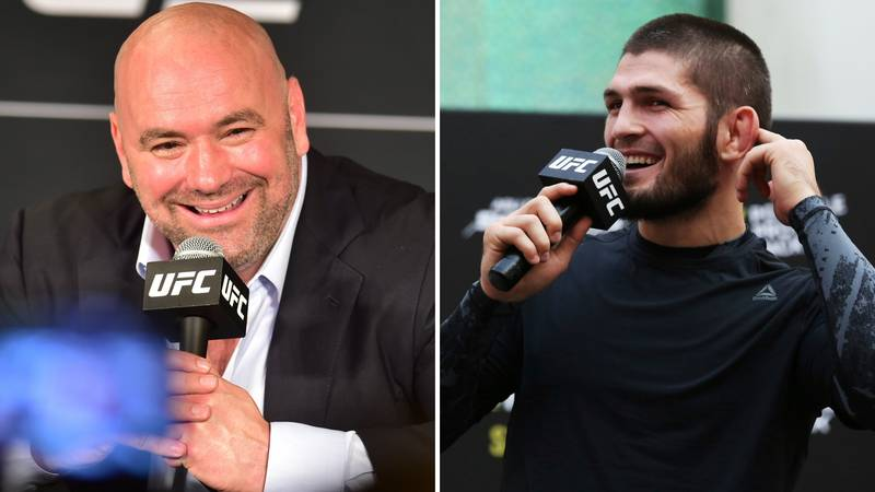 Khabib Nurmagomedov Is A 'Couple Of Fights Away From GOAT Status,' Says Dana White